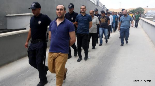 Mersin'de Fetö Operasyonunda 6 Adli Personel Tutuklandı