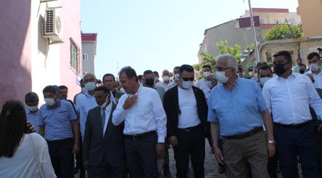 SEÇER'E  GÜLNAR'DA SİLİFKE'DE COŞKULU KARŞILAMA