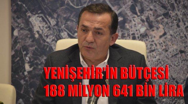 YENİŞEHİR'İN BÜTÇESİ 188 MİLYON  LİRA