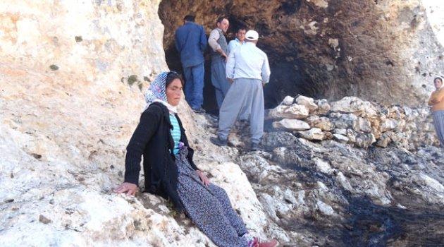 Mağaradaki Yangında 130 Keçi Telef Oldu! Kadın Çoban Gözyaşlarına Boğuldu