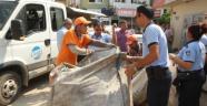 Mersin'de Çöpten Atık Toplayanlara Operasyon