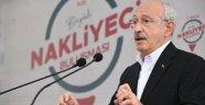 CHP LİDERİ KILIÇDAROĞLU ''670 BİNİ AŞKIN NAKLİYECİ SAHİPSİZ KALDI''