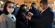 MEZİTLİ 'DE CHP'YE BÜYÜK KATILIM