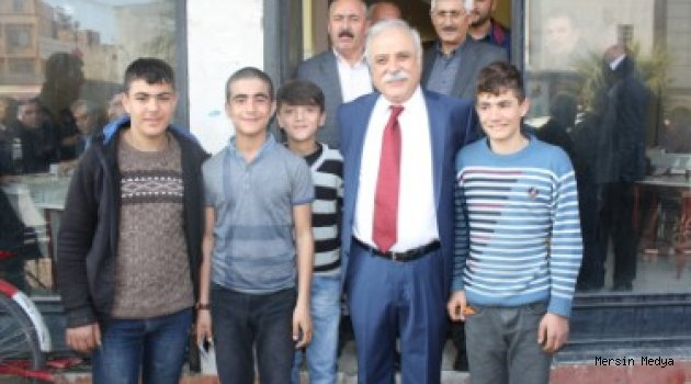TOROSLAR CHP BELEDİYE BAŞKAN ADAY DALKILIÇ SAHAYA İNDİ